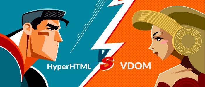 HyperHTML vs VDOM