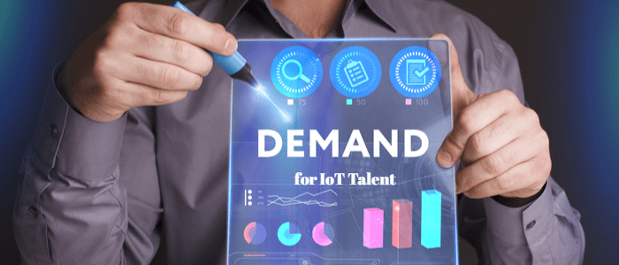 Demand for IoT Talent surges by 304%, according to survey