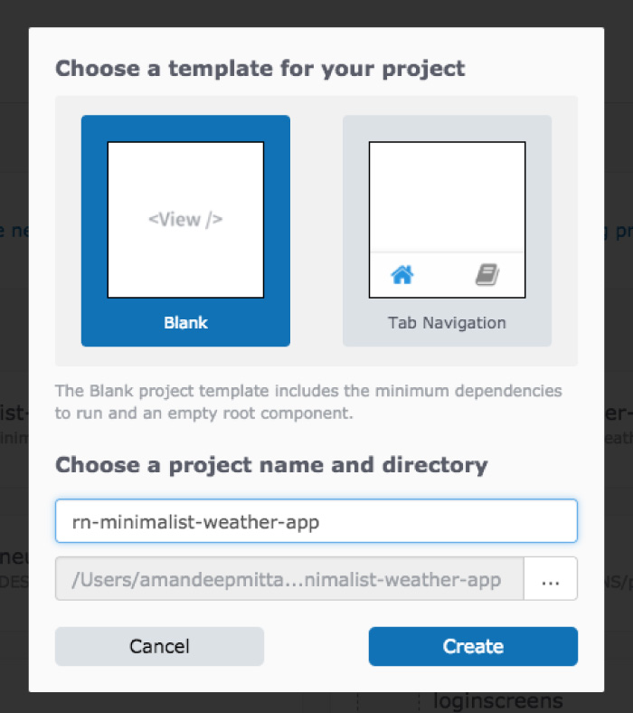 React Native- Building a Minimalist Weather App using Expo XDE