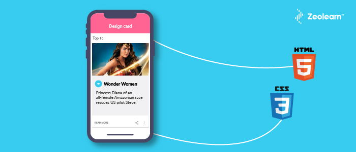 Create Material Design Cards from Scratch | Build Material Design