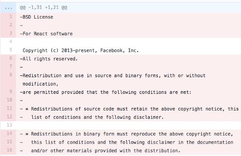 Facebook re-licensed React - As it happened