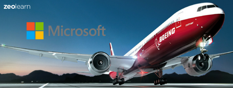 Microsoft And Boeing Teams Up for Digital Aviation Using Big Data And AI