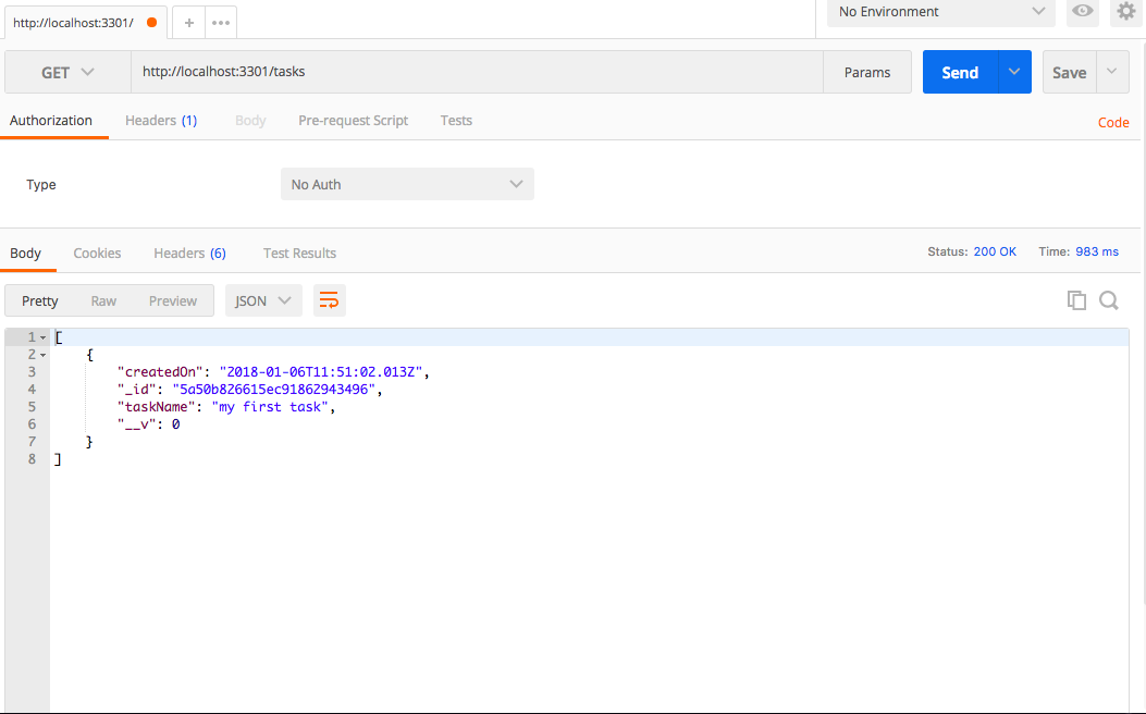 Designing a REST API with Node js and MongoDB Atlas